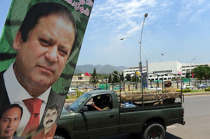Наваз Шариф в третий раз стал премьер-министром Пакистана.