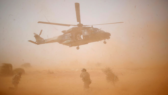 13 погибших: два военных вертолета столкнулись в Мали