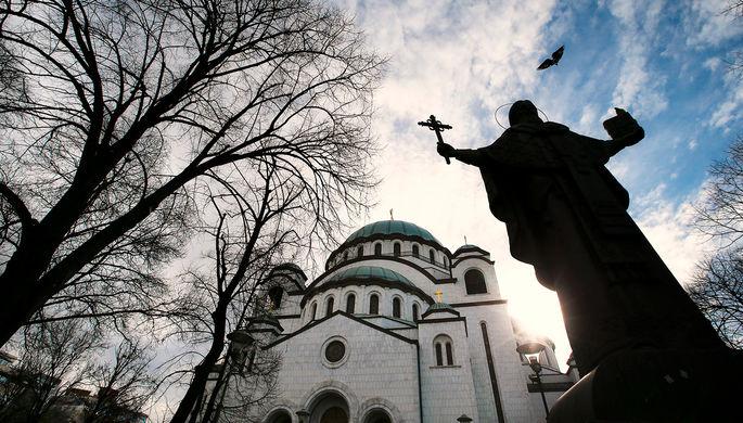 «Бадняк символизирует крест Иисуса»: как сербы отмечают Рождество