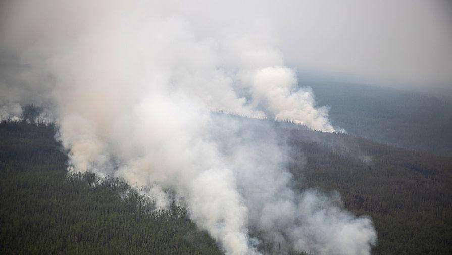 Лесной пожар вЯкутии, 2021 год