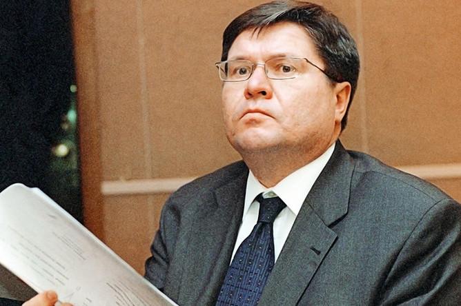 Алексей Улюкаев на пленарном заседании Государственной думы РФ, 2002 год