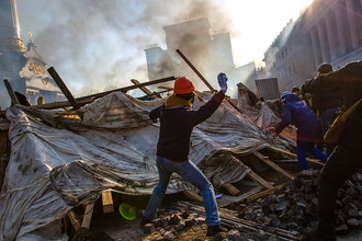 Беспорядки в Киеве, февраль 2014 года