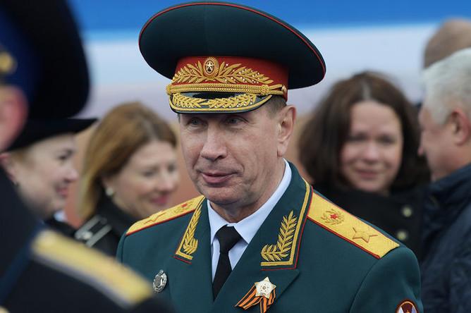 Главнокомандующий войсками национальной гвардии России Виктор Золотов