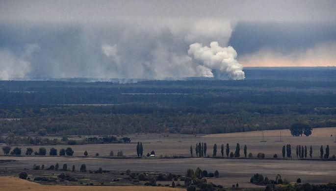 «Ответ один»: Киев винит Москву во взрыве на складе