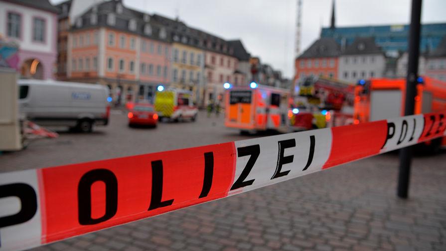 Последствия ДТП в немецком Трире, 1 декабря 2020 года