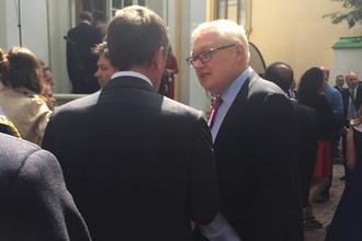 Заместитель министра иностранных дел России Сергей Рябков на приеме по случаю Дня независимости США