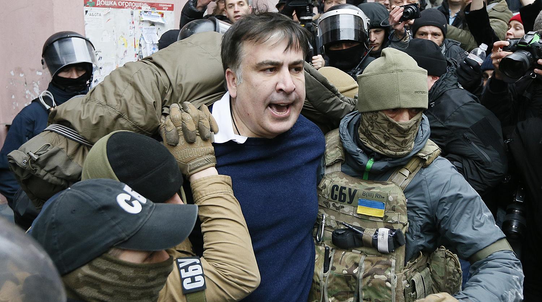 Саакашвили задержали в Киеве