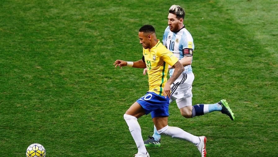 Сборная Аргентины обыграла команду Бразилии в товарищеском матче