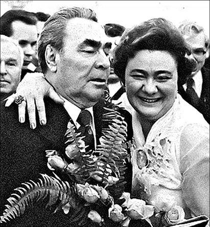 Леонид Брежнев и Галина Брежнева