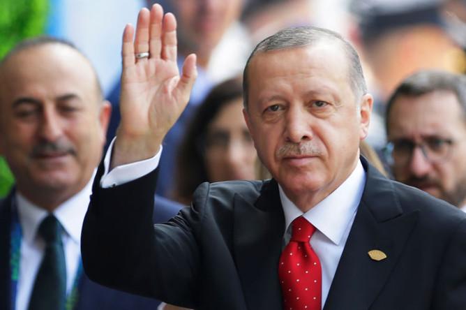 Президент Турции Реджеп Эрдоган на форуме G20, 30 ноября 2018 года
