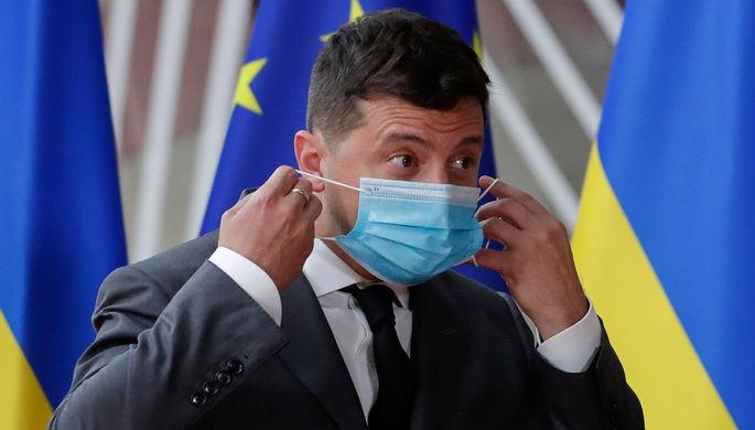 Зона в Донбассе: Зеленский задал украинцам второй вопрос
