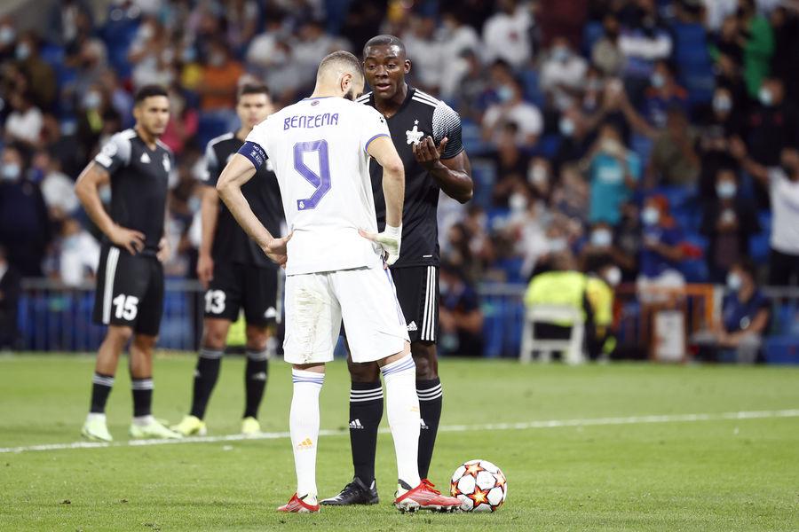 Эпизод матча «Реал Мадрид» — «Шериф» вЛиге чемпионов