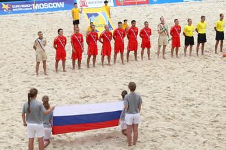 Сборная России по пляжному футболу в Суперфинале Евролиги