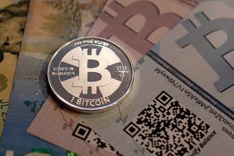 Физическое воплощение криптовалюты Bitcoin, созданное энтузиастами в США