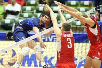 Россияне начали свое выступление на Всемирном Кубке чемпионов с поражения от итальянцев
