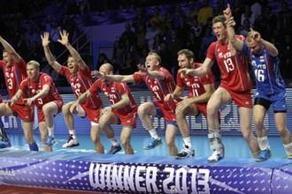 Россия — победитель Мировой лиги — 2013