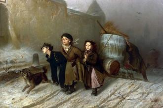 Картина Василия Григорьевича Перова «Тройка»
