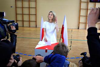 Кандидат в президенты Польши Магдалена Огурек