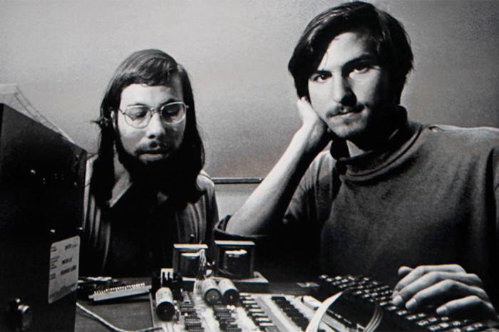Стив Возняк и Стив Джобс, 1976год