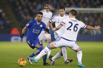 Рияд Марез (слева) продолжает оставаться одним из самых ярких футболистов английского сезона