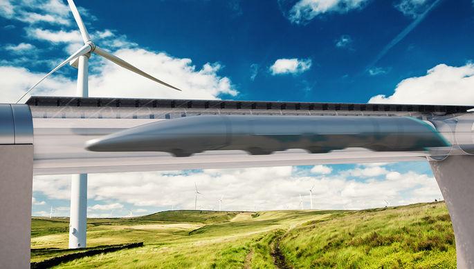 Первый рывок Hyperloop