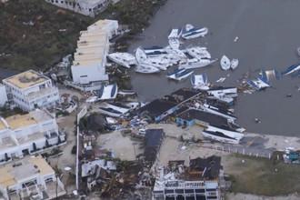 Последствия урагана «Ирма» на острове Сен-Мартен, 6 сентября 2017 года