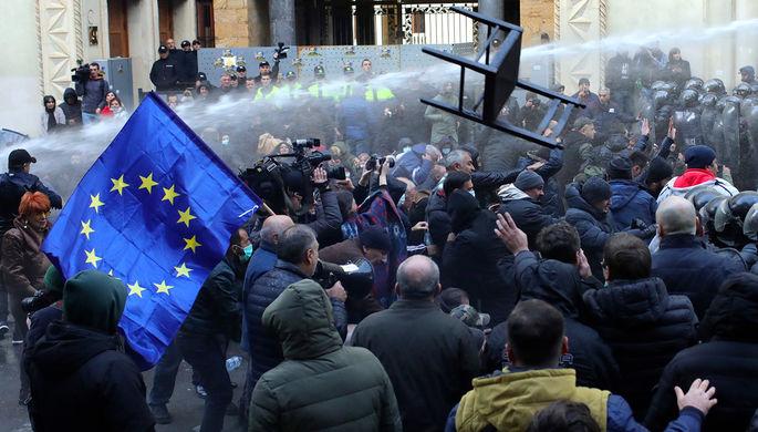 Протесты в Тбилиси, 18 ноября 2019 года