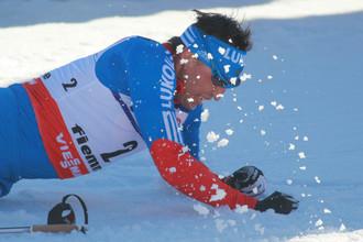 Российский лыжник Александр Легков, которого дисквалифицировал МОК