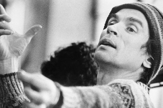 Рудольф Нуреев на репетиции балета «Дон Кихот» в Бостоне, 1982 год