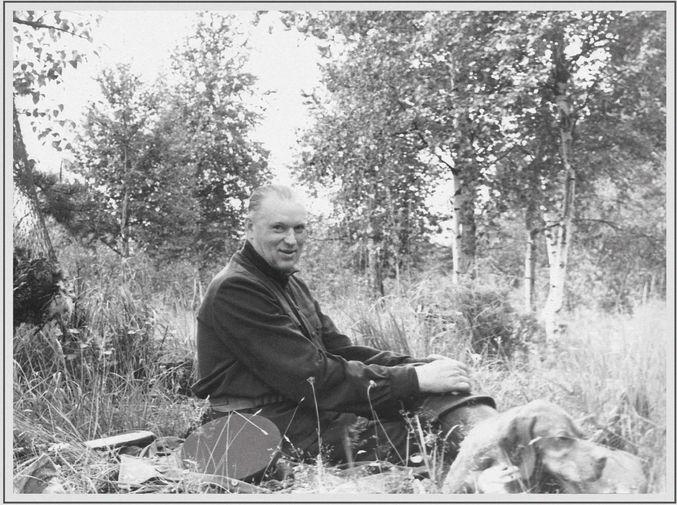 Маршал Советского Союза Константин Рокоссовский на охоте, 1960-е годы