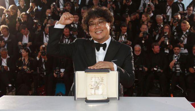 Режиссер Пон Чжун Хо, получивший главный приз Каннского кинофестиваля за фильм «Паразиты»