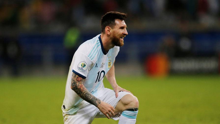 Гол Месси не помог сборной Аргентины обыграть Чили в матче Кубка Америки