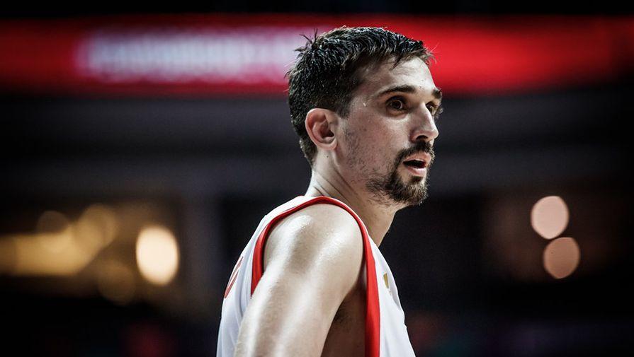 Баскетболист сборной России Алексей Швед