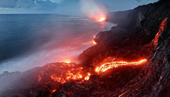 Национальный парк «Хавайи-Волкейнос» на Гавайях
