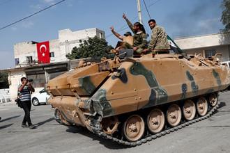 Вопреки Эрдогану: турецкая армия атакует сирийские города