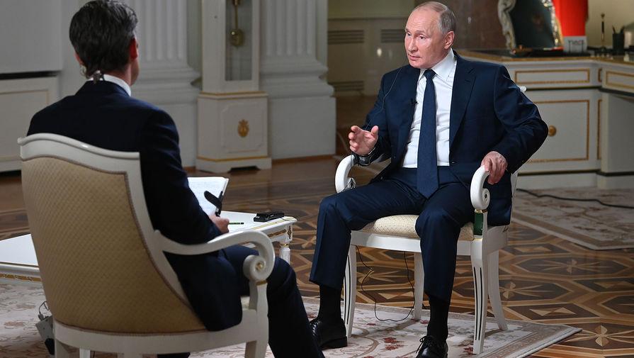 Путин попросил журналиста NBC не затыкать ему рот во время интервью