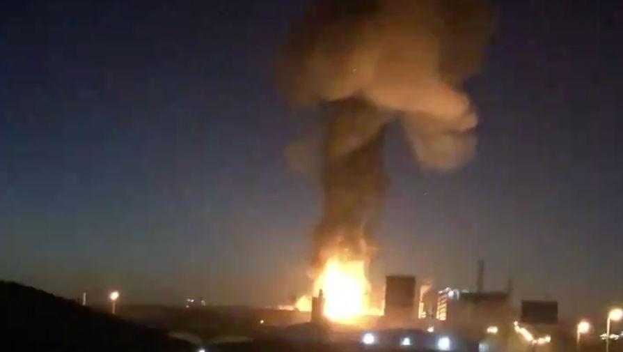 Взрыв раздался на нефтехимическом заводе в Испании