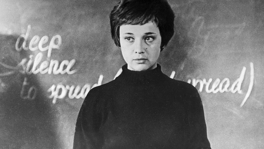 Ирина Печерникова в фильме «Доживем до понедельника», 1969 год