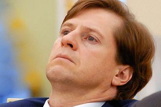 Бывший глава Банка Москвы Андрей Бородин