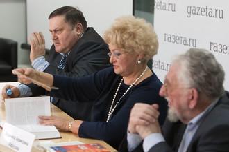 В редакции «Газеты.Ru» в преддверии 20-летия принятия Конституции проходит «круглый стол», посвященный 20-летию принятия Конституции