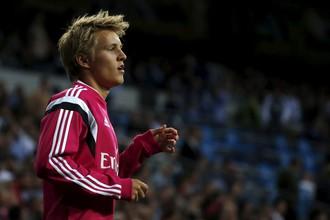 Мартин Эдегор перед дебютным появлением в составе мадридского «Реала»