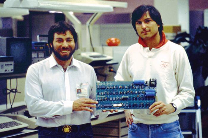 Стив Возняк и Стив Джобс, 1983 год