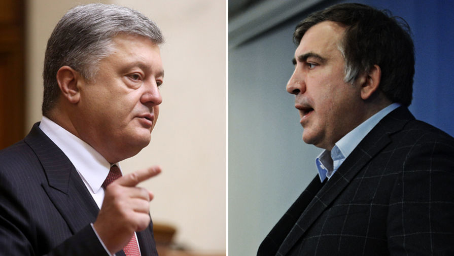 «Для него есть только власть»: Саакашвили валит Порошенко