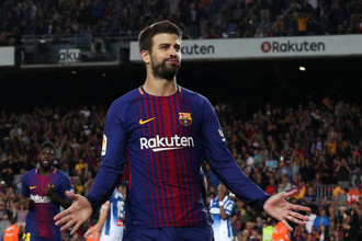 Защитник «Барселоны» Херард Пике