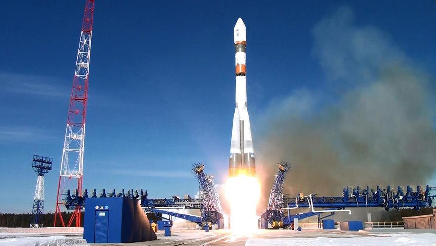 Ракета «Союз-2.1В» с четырьмя спутниками стартовала с космодрома Плесецк