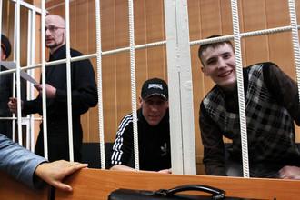 Руслан Хубаев, Игорь Березюк и Кирилл Унчук в Тверском суде