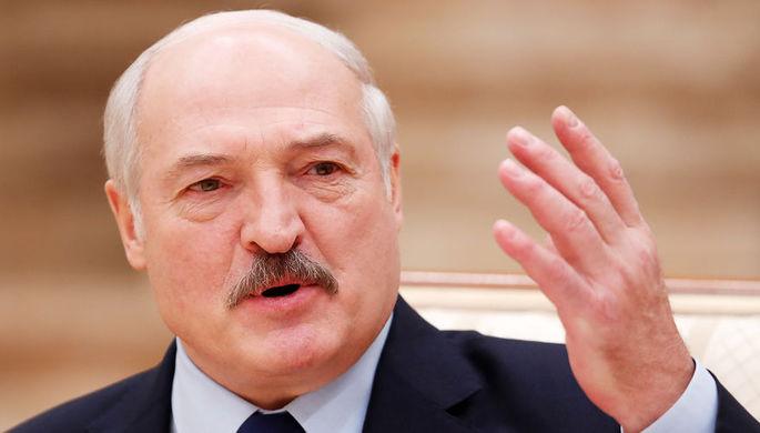 Президент Белоруссии Александр Лукашенко во время пресс-конференции в Минске, декабрь 2018 года