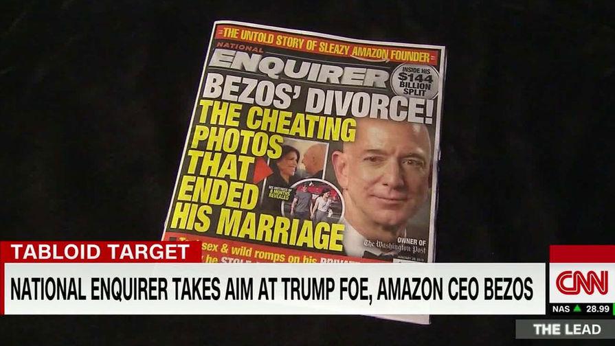 Стало известно, кто слил обнаженное селфи главы Amazon таблоиду