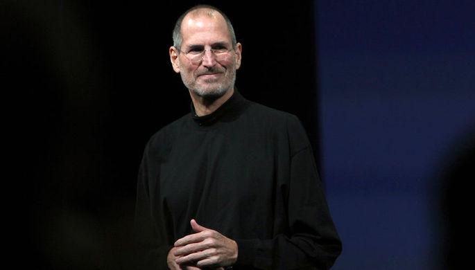 Стив Джобс на презентации Apple в 2010 году