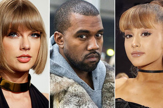 Тейлор Свифт и Ариана Гранде: кто замахнулся на премию MTV
